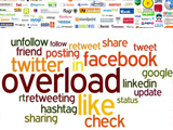 Quantifying Information Overload in Social Media and its Impact on Social Contagions