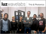 The Luz Wavelabs team at their lab.